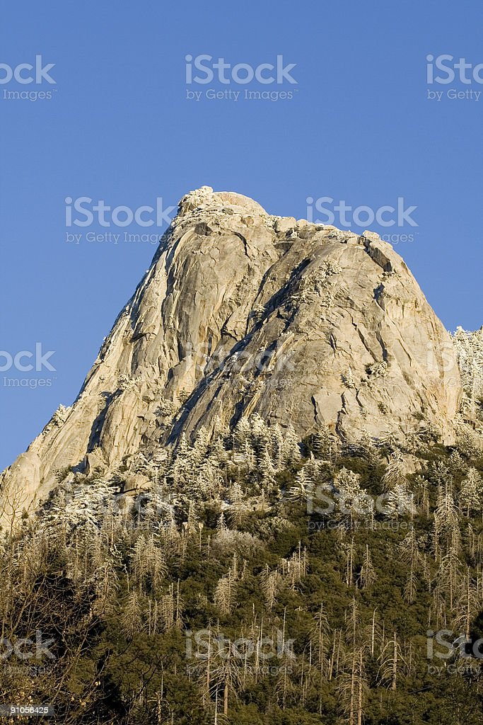 Tahquitz Peak royalty-free stock photo