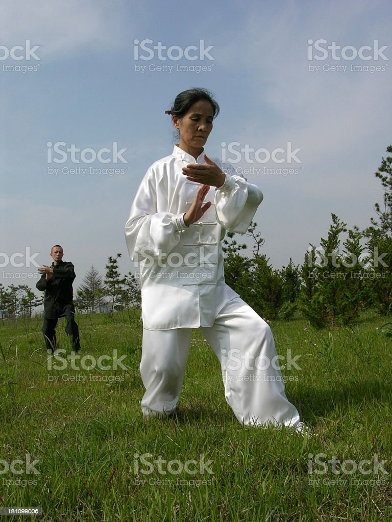 Tai Chi (China) royalty-free stock photo
