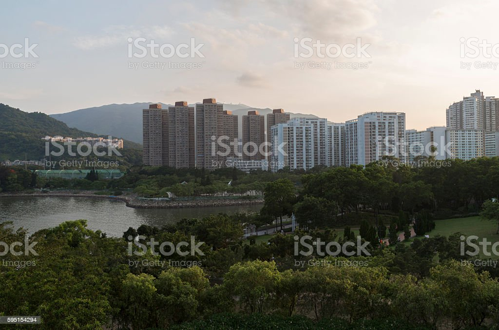Tai Po stock photo