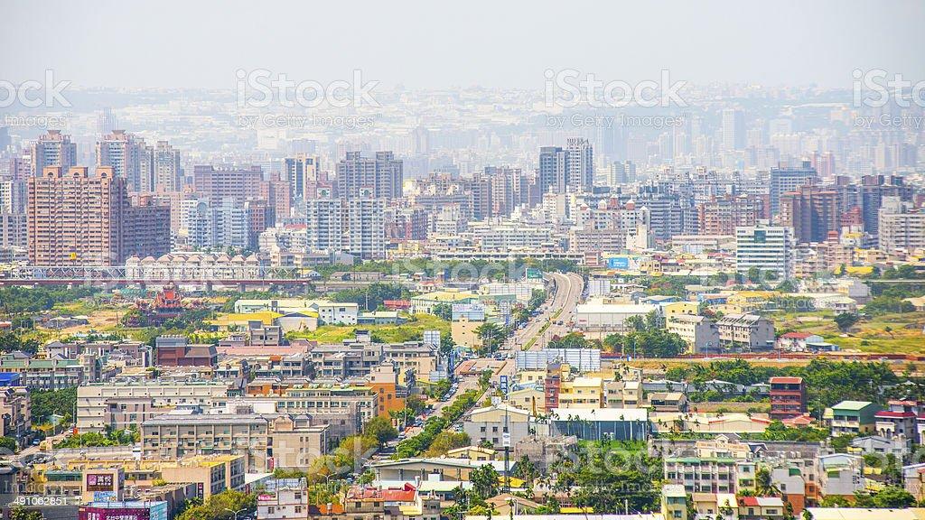 Taichung city stock photo