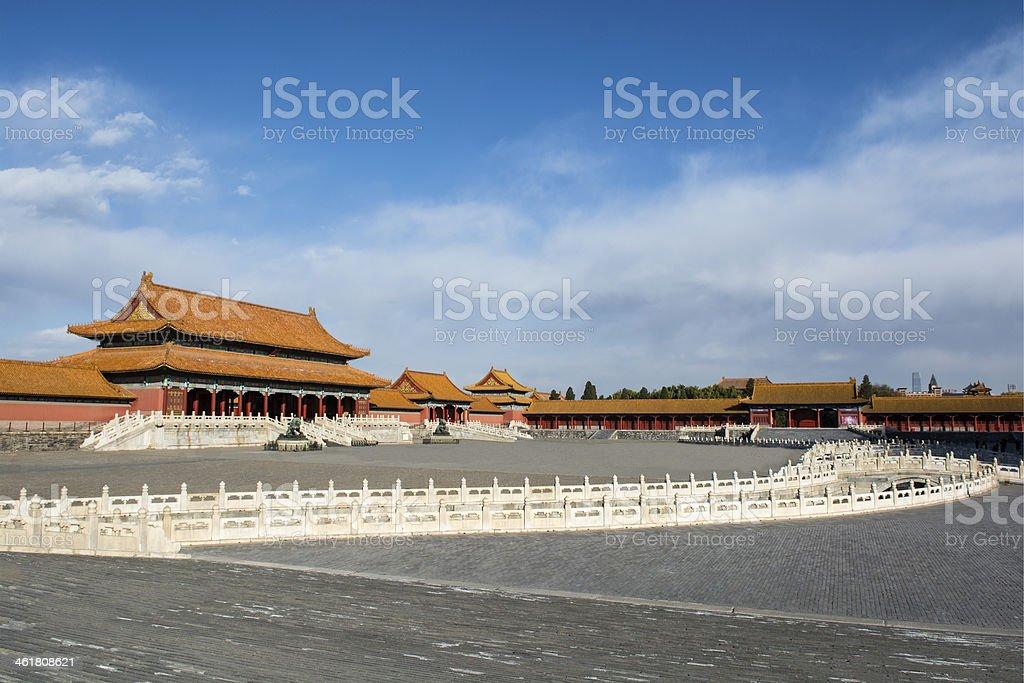 Taihe palace stock photo