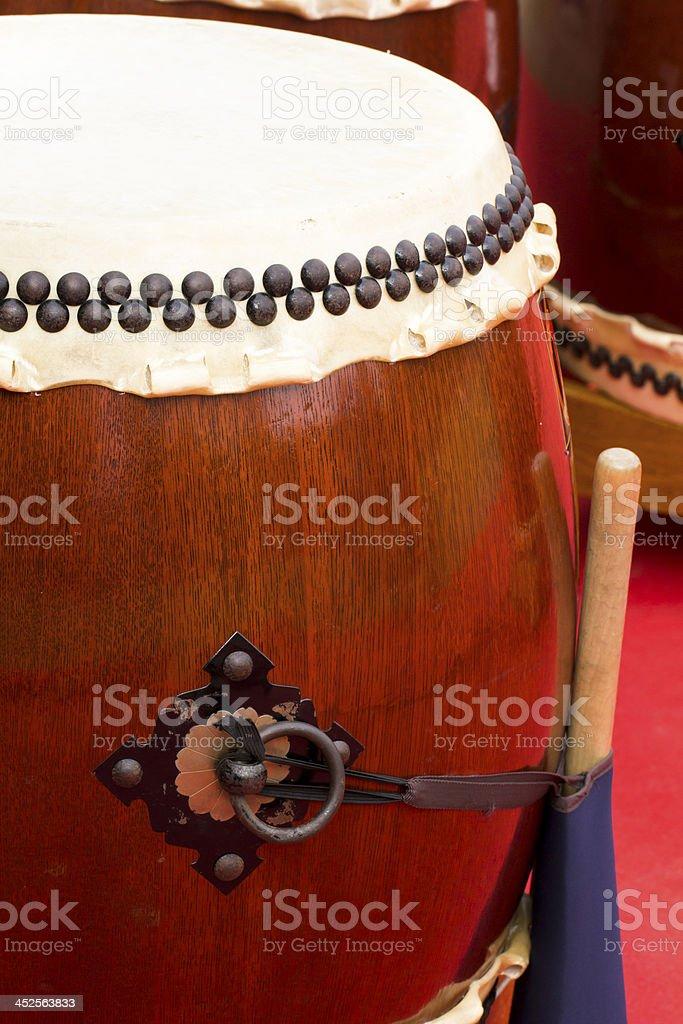 Taiko Drum stock photo