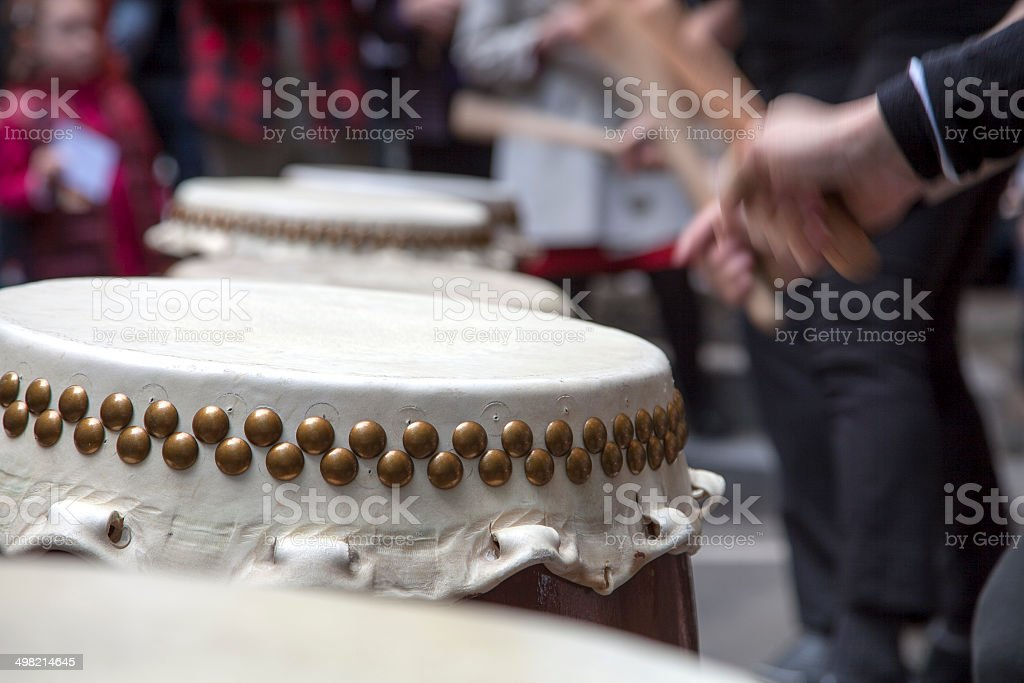 Taiko Drums stock photo