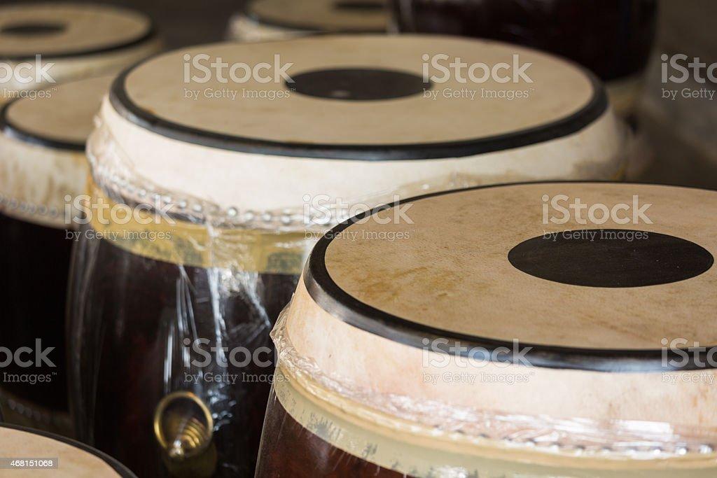 taiko traditional drum stock photo