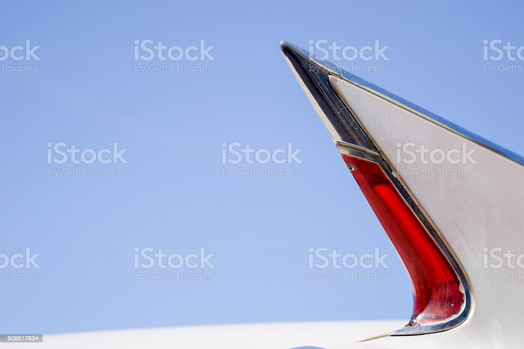 tail fin stock photo