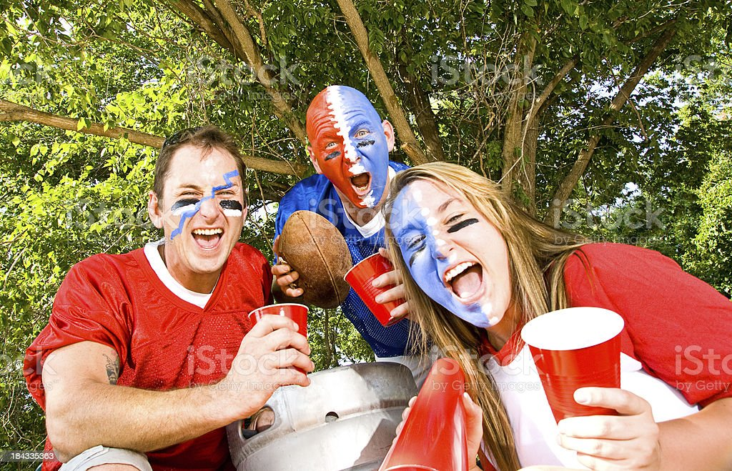 Tail Gate Party royalty-free stock photo