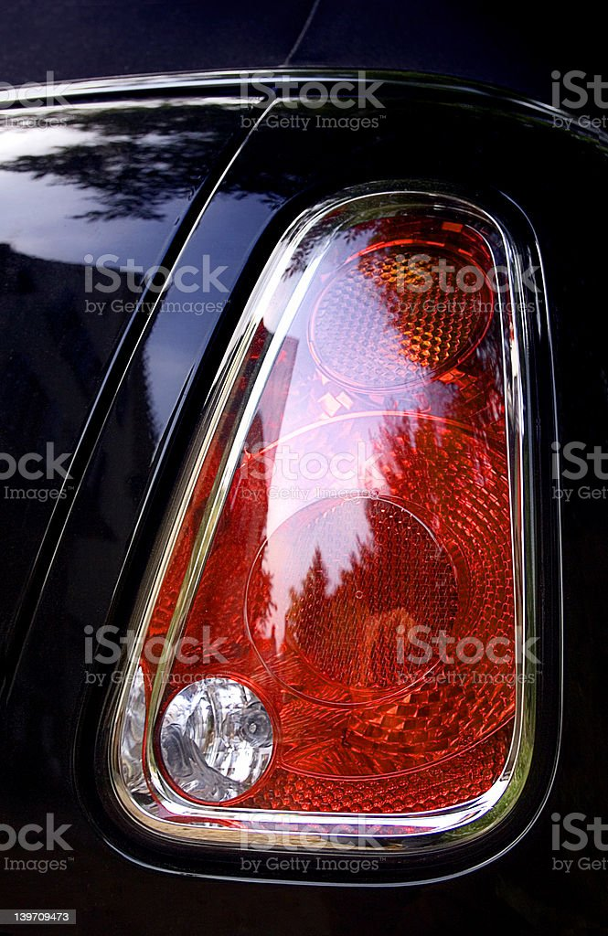 Tail Light #1 royalty-free stock photo