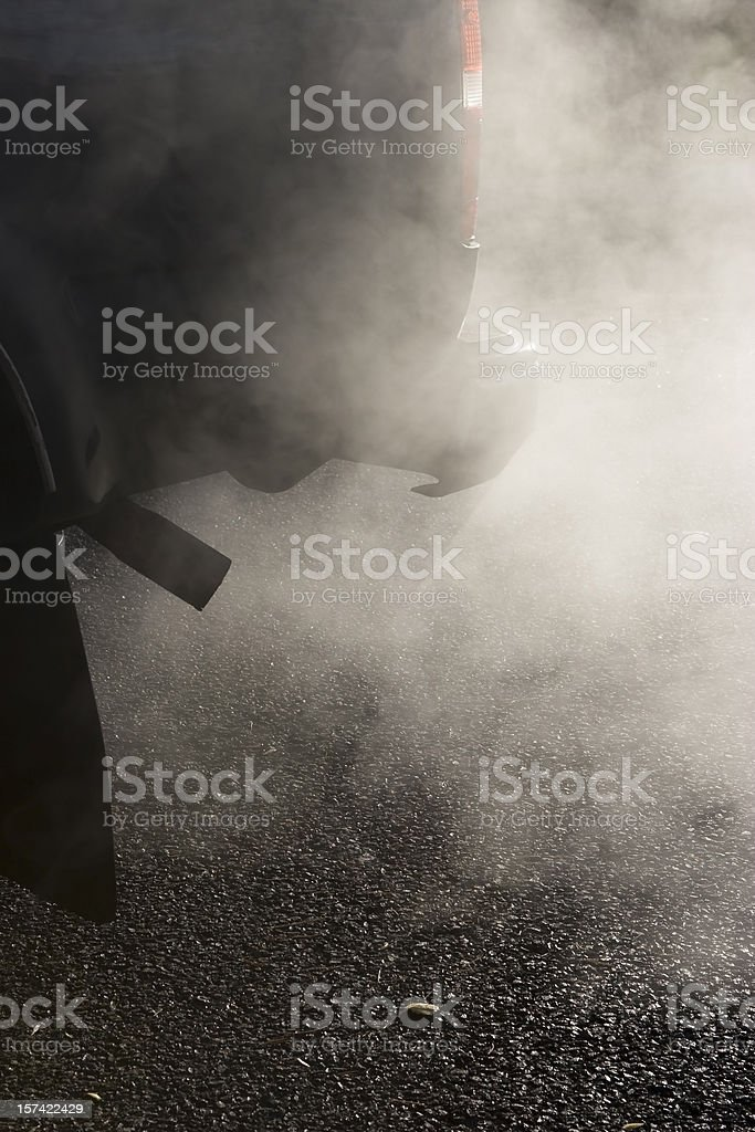 Tail Pipe Auto Exhaust royalty-free stock photo