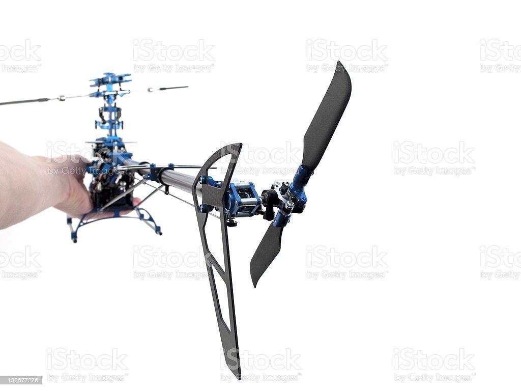 Tail rotor royalty-free stock photo