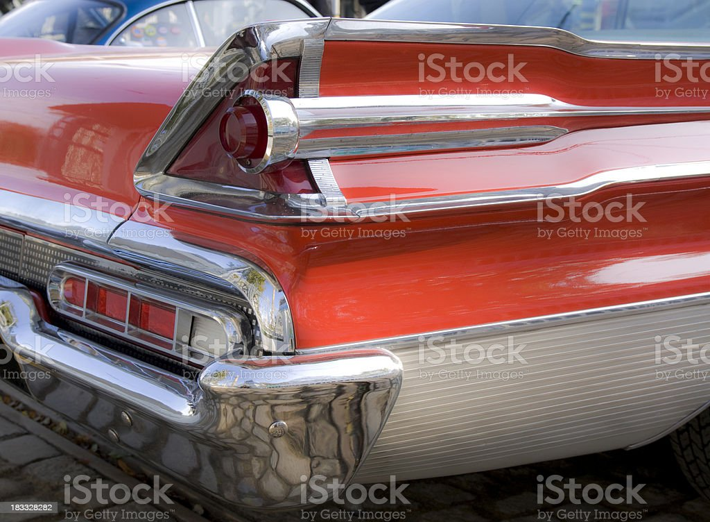 Tail Wing Lights royalty-free stock photo