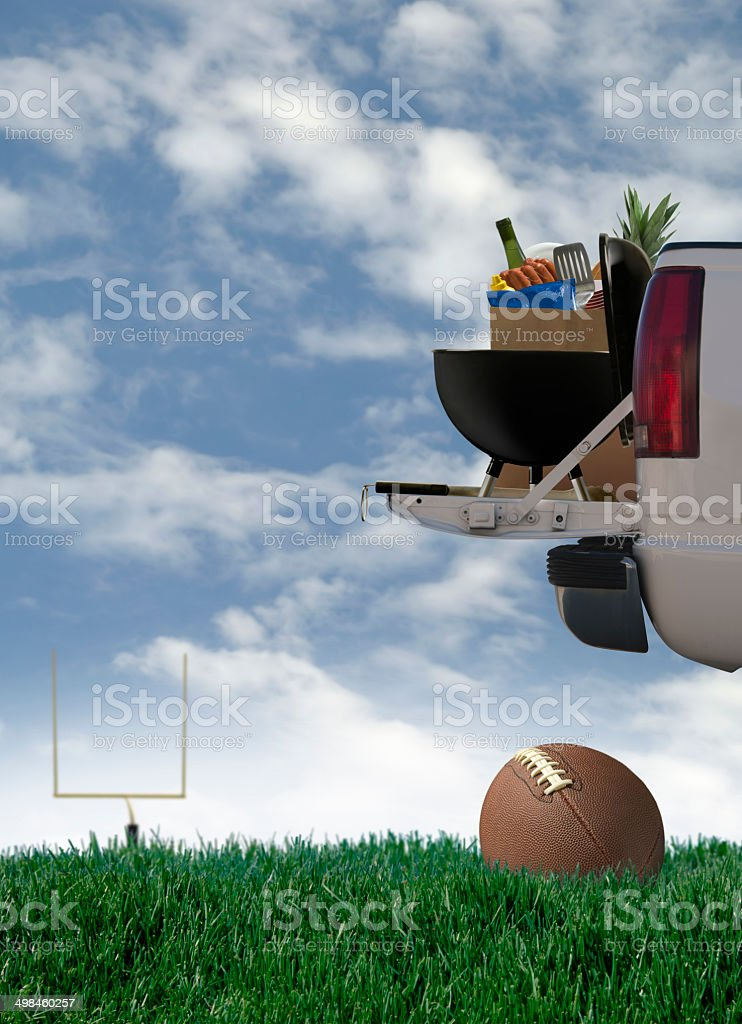 Tailgate Party stock photo