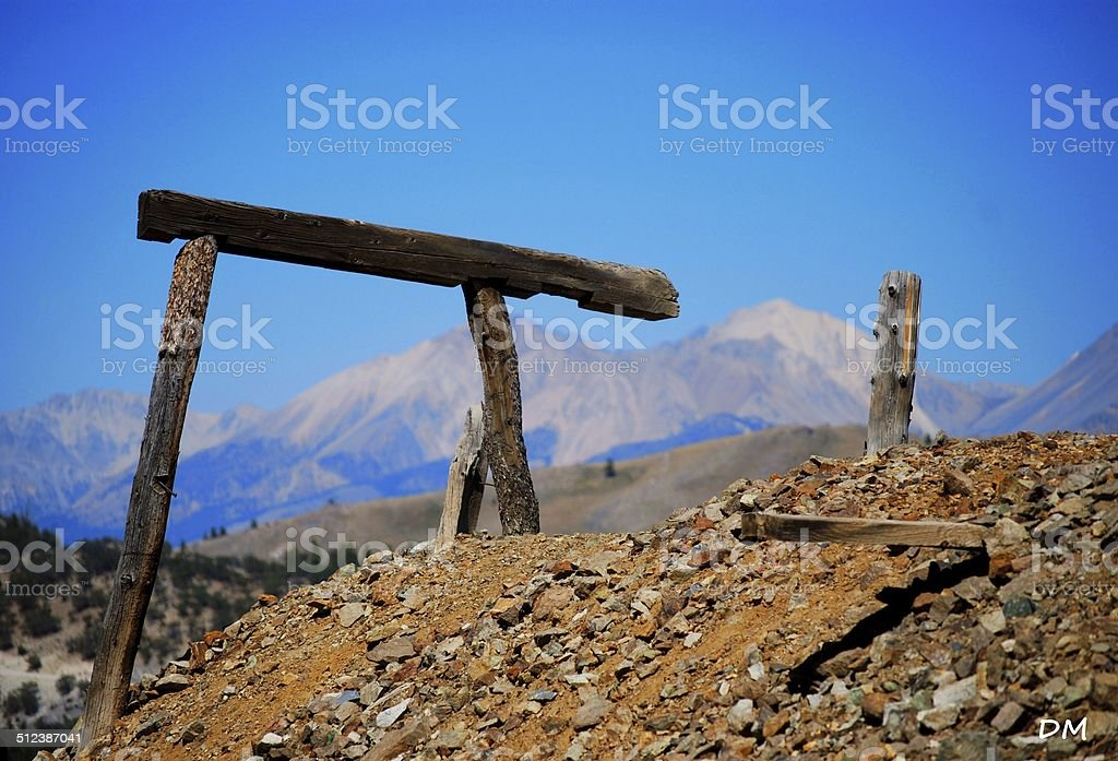 Tailing Pile stock photo