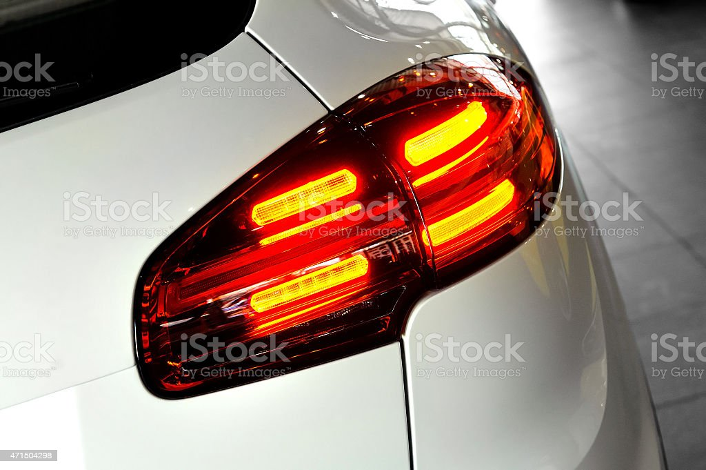 Taillight car stock photo