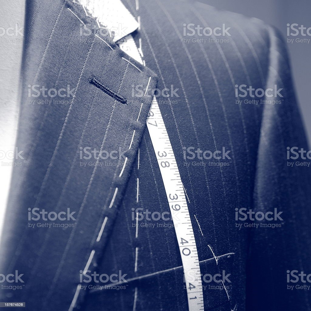 Tailor closeup royalty-free stock photo