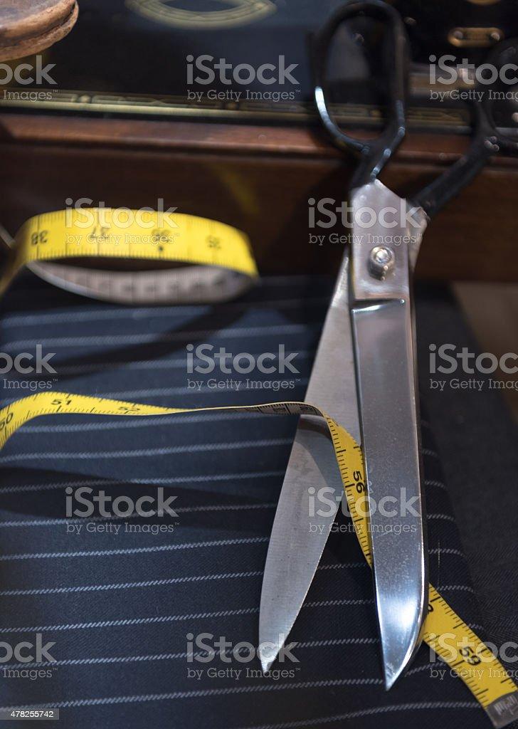 Tailor Scene stock photo