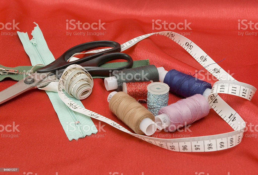 tailor tool royalty-free stock photo