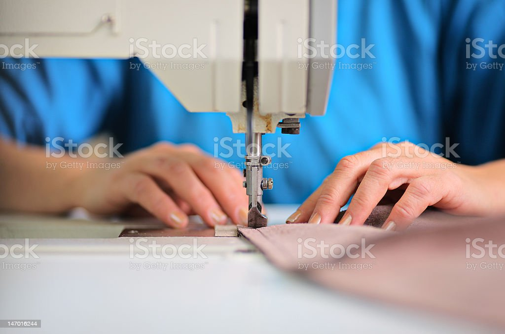Tailor working royalty-free stock photo