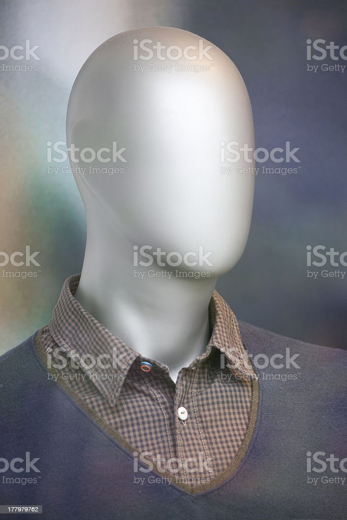 Tailor's dummy mannequin royalty-free stock photo