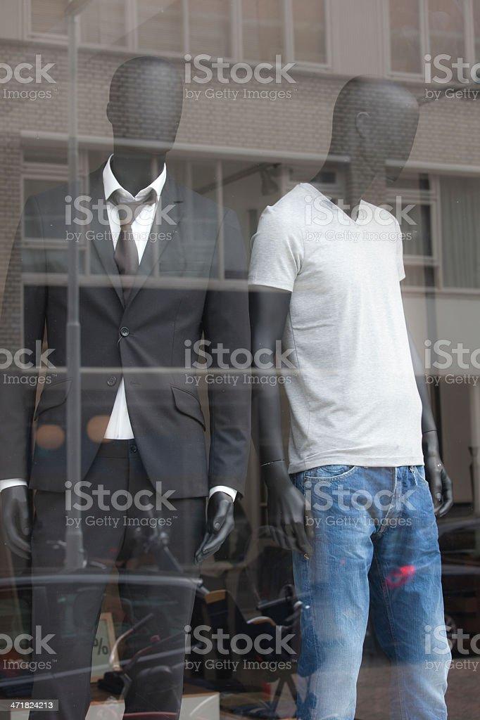 Tailor's dummy mannequin stock photo