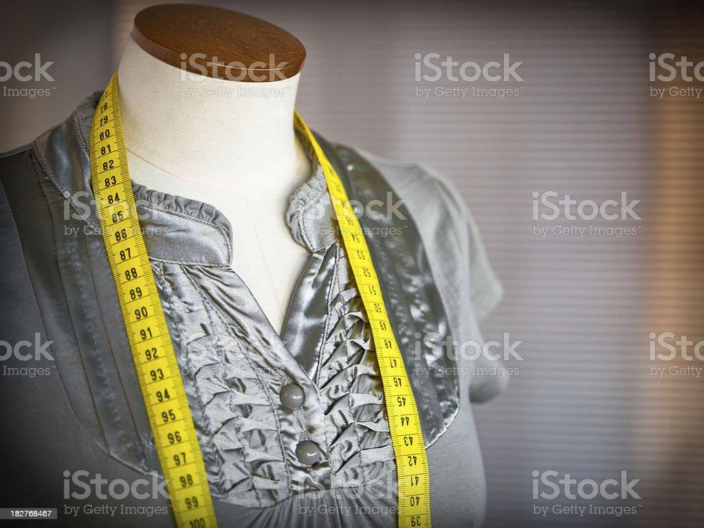 Tailors dummy royalty-free stock photo