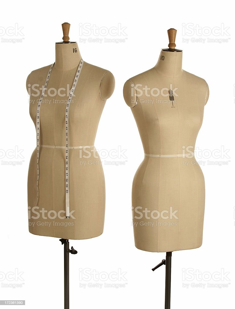 Tailors Mannequin royalty-free stock photo