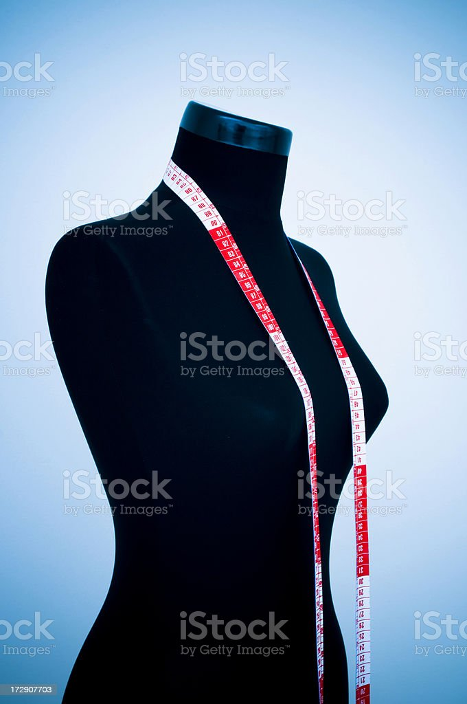 Tailor's mannequin royalty-free stock photo