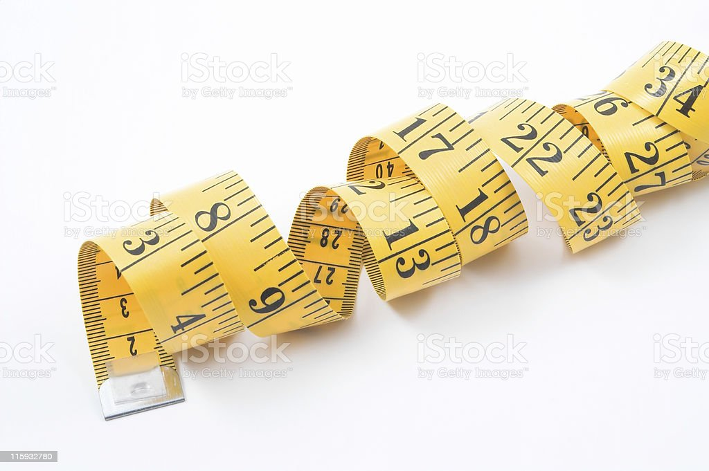 Tailor's Measuring Tape royalty-free stock photo