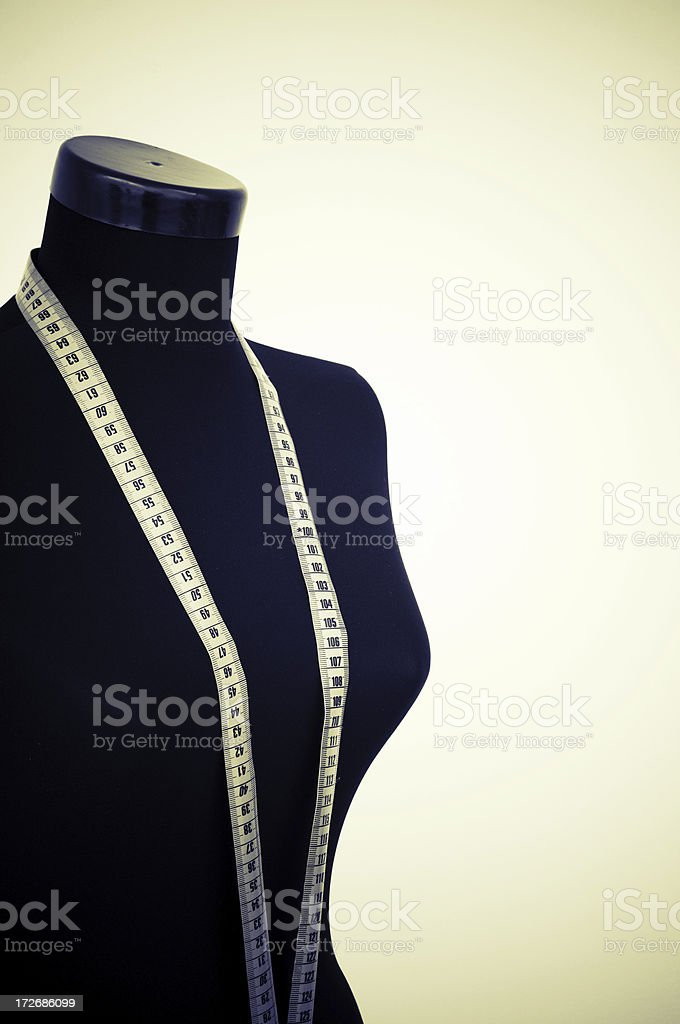 Tailor's model royalty-free stock photo