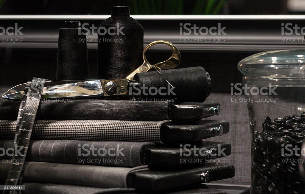 Tailors Scene stock photo