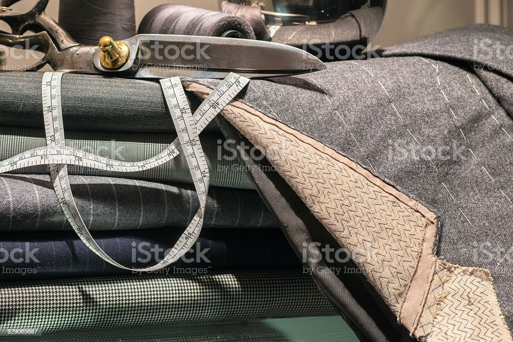 Tailor's Scene stock photo