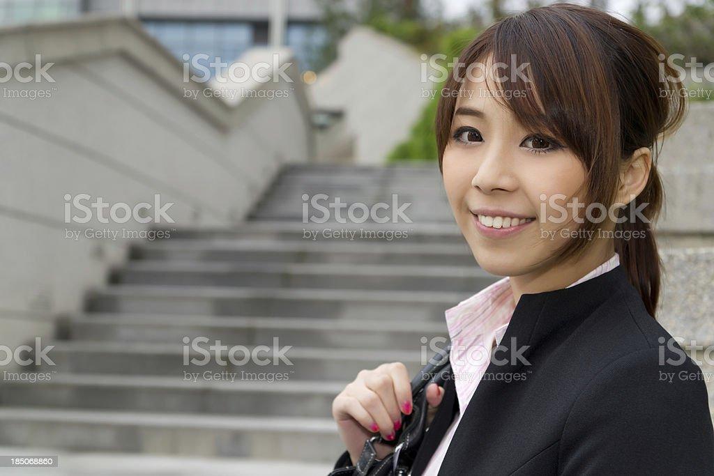 taipei business woman royalty-free stock photo