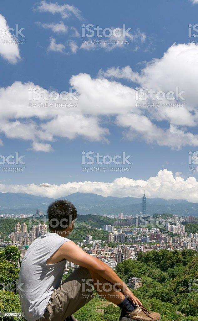 Taipei city royalty-free stock photo