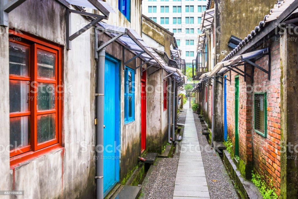 Taipei, Taiwan historic buildings stock photo
