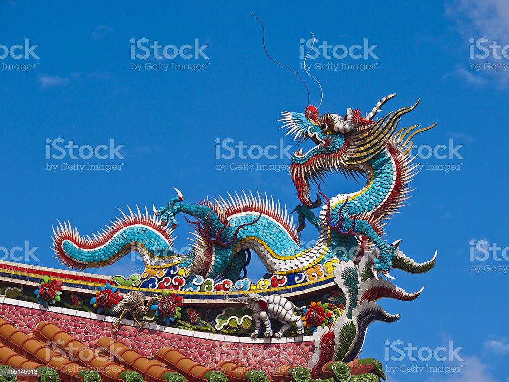 Taipei temple, Taiwan stock photo