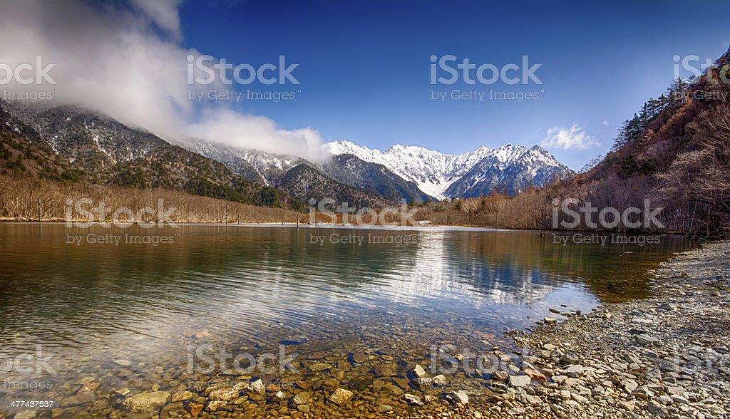 Taisho Pond stock photo