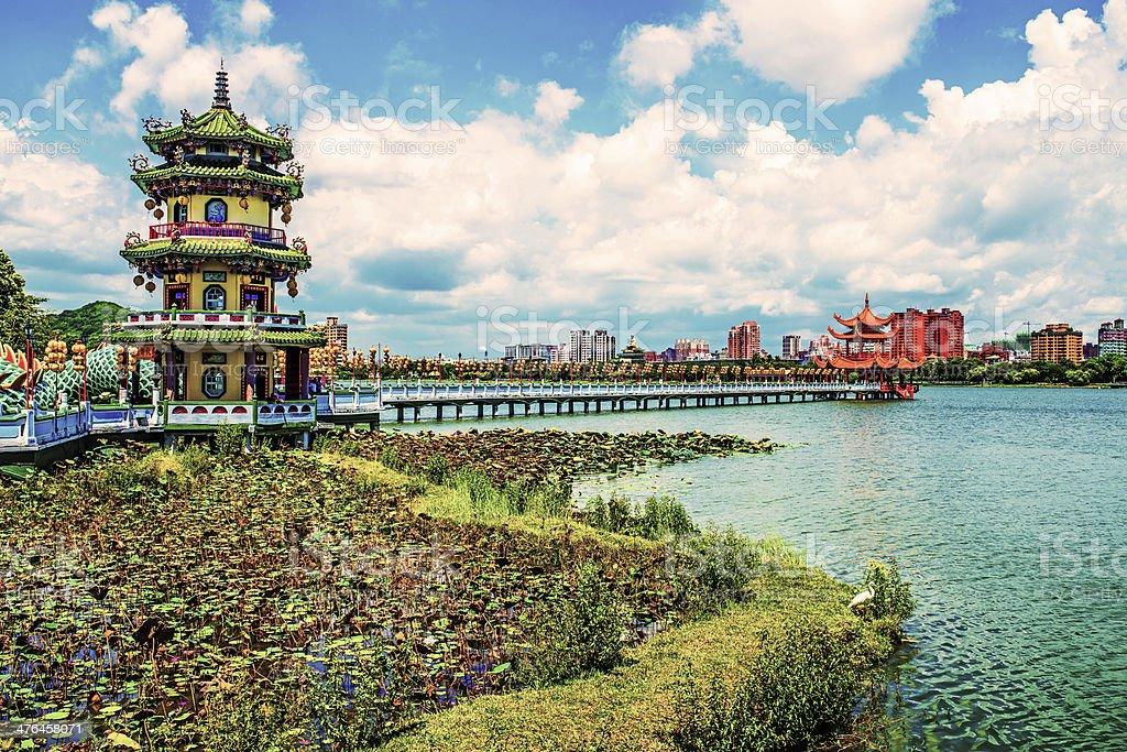 Taiwan - Kaohsiung city stock photo