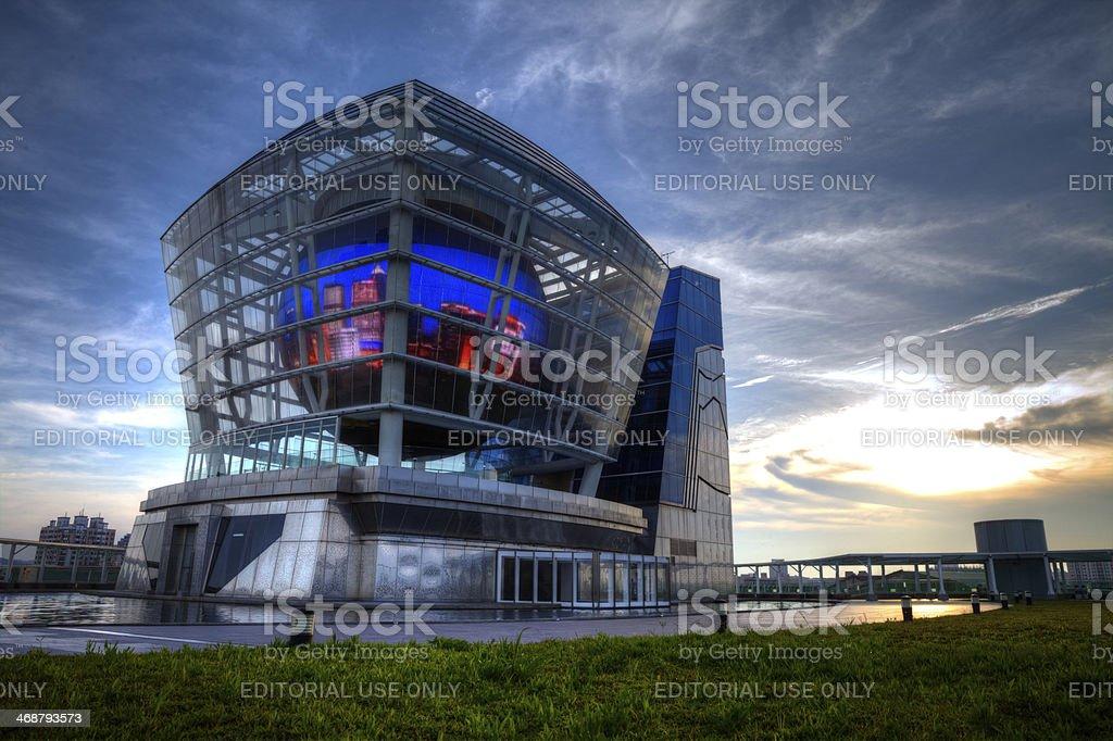Taiwan Pavilion stock photo