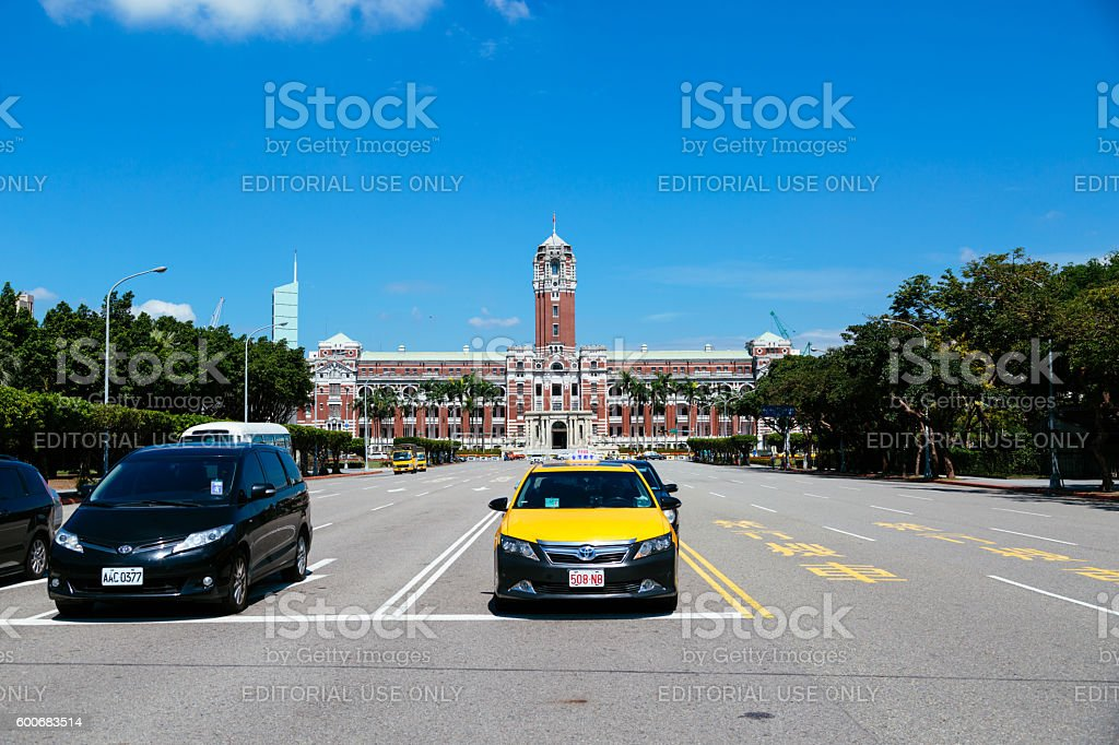 Taiwan Presidential Office Building in Taipei, Taiwan stock photo