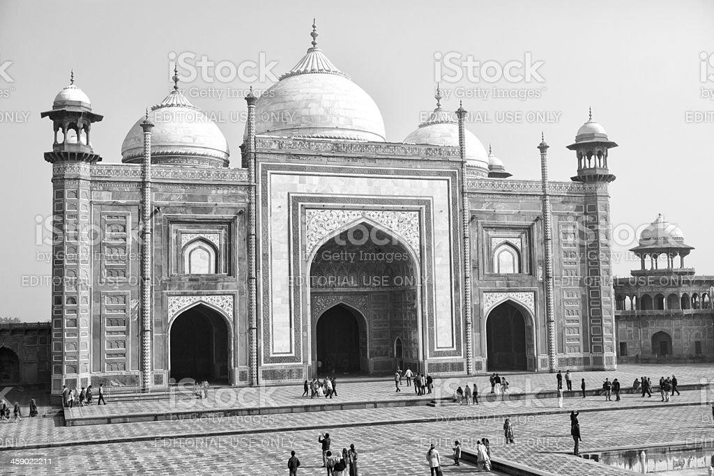 Taj complex, Agra, India stock photo