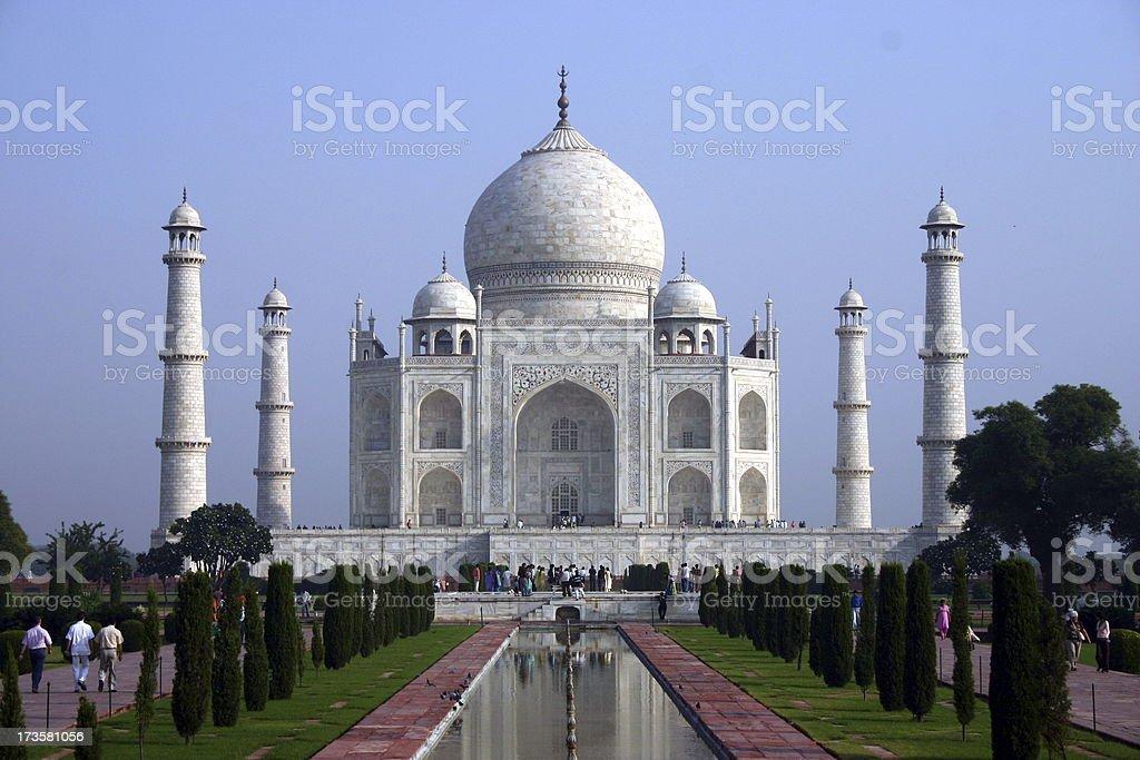 Taj Mahal, Agra, India. royalty-free stock photo