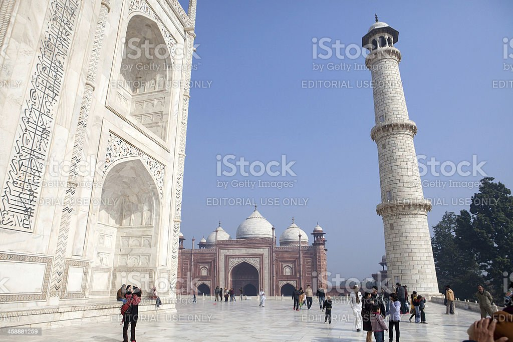 Taj Mahal, Agra, India royalty-free stock photo