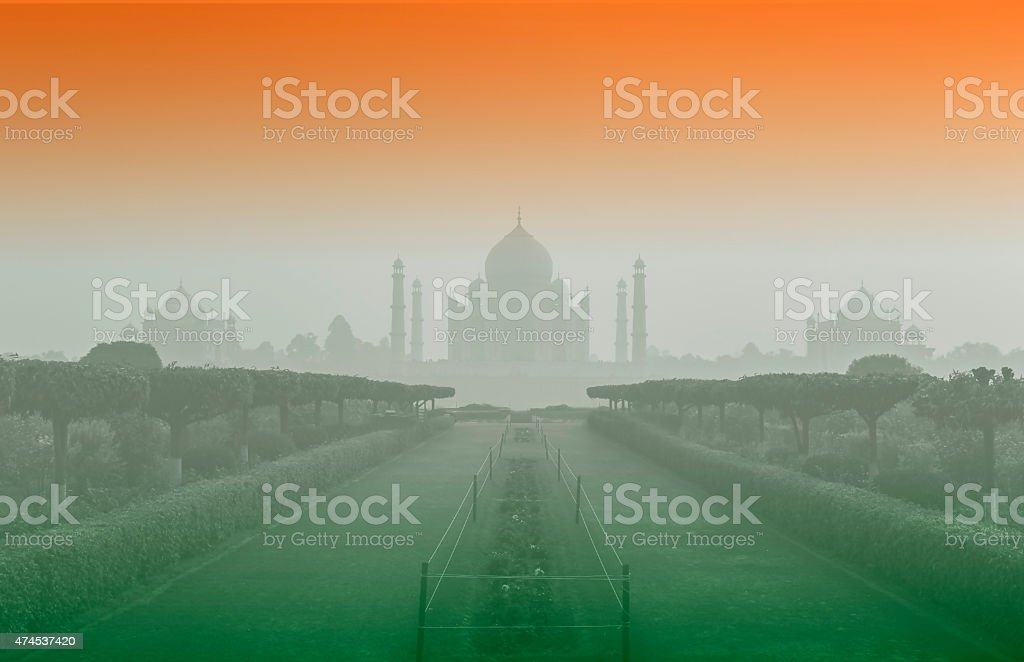 Taj Mahal, Agra, India stock photo