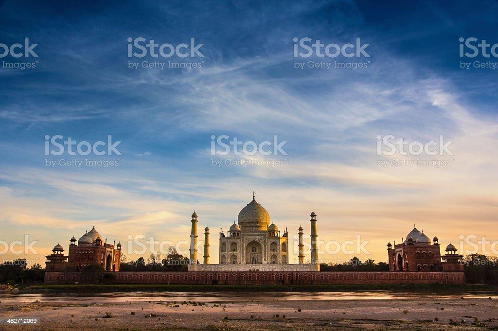 Taj Mahal ,Agra, India stock photo