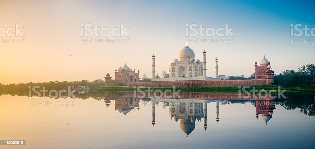 Taj Mahal Agra India stock photo