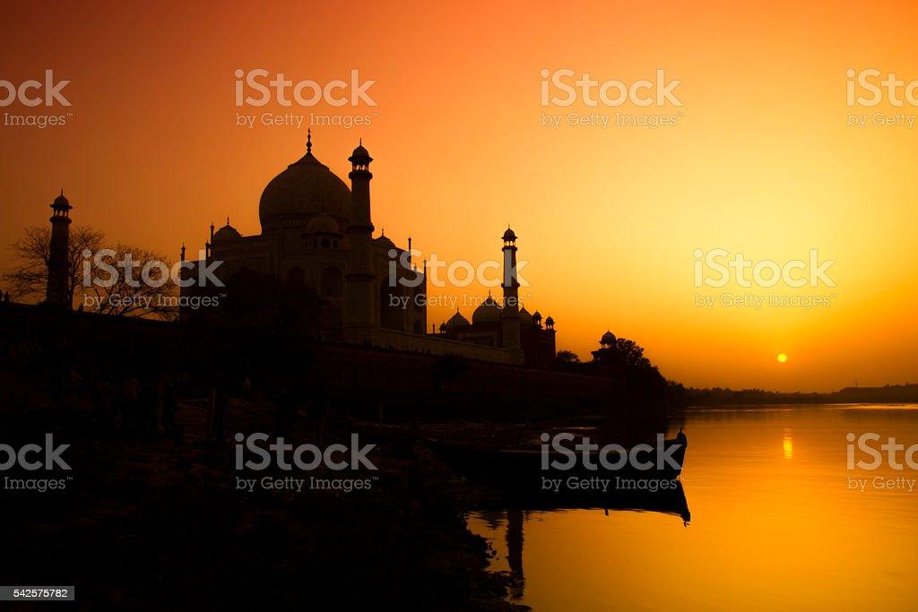Taj Mahal, Agra - India stock photo