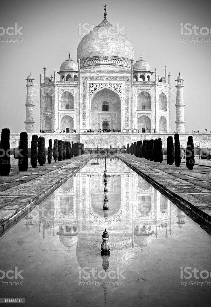 Taj mahal, Agra. – Foto