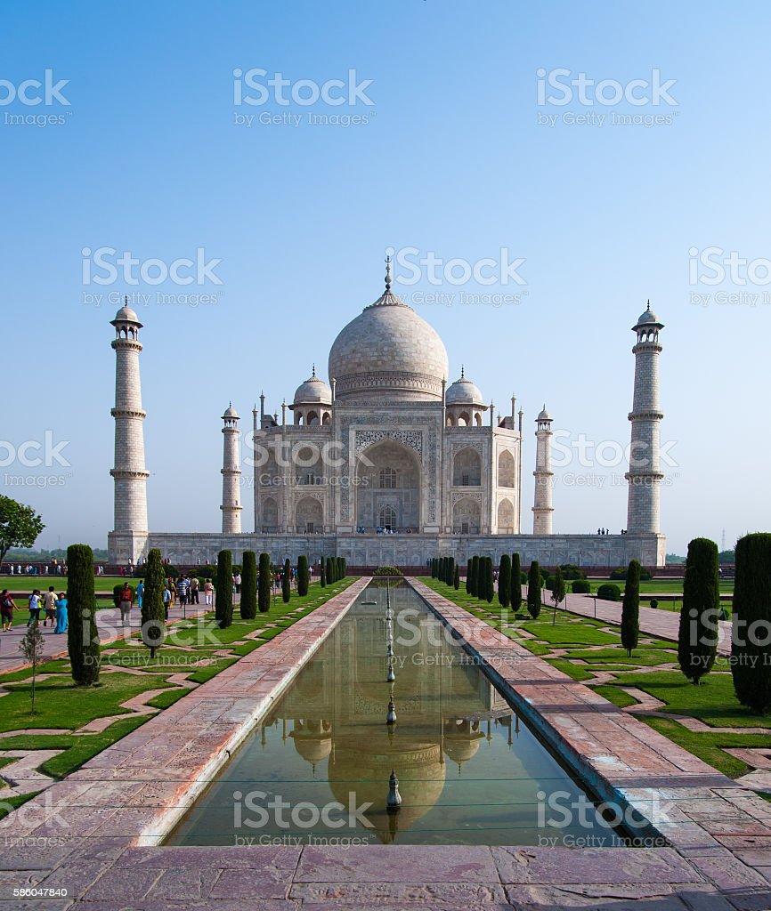 Taj Mahal Agra royalty-free stock photo