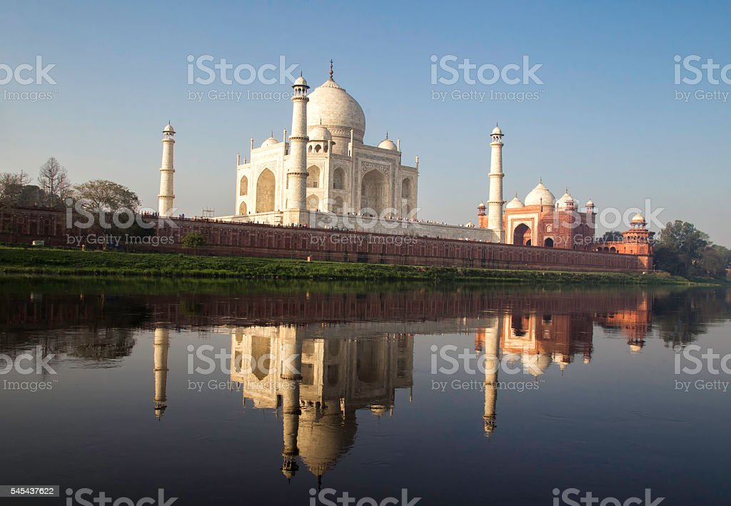 Taj Mahal, Agra-India stock photo