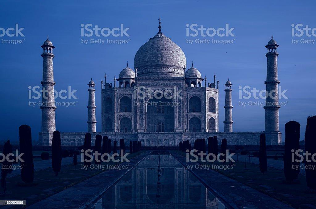 Taj Mahal At Twilight, Agra, India stock photo