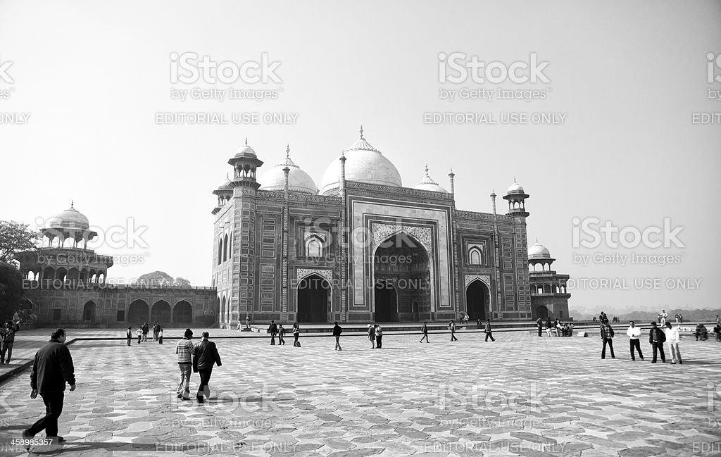 Taj Mahal complex, Agra, India stock photo
